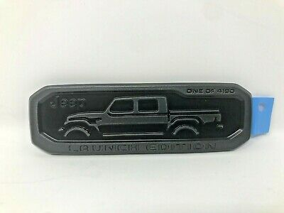 2020 Jeep Gladiator Lower Right Tailgate Launch Edition Nameplate Emblem Mopar • 57.68$