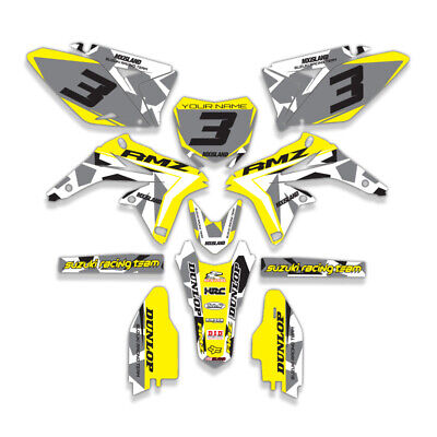 $67.91 • Buy 2001-2004 Suzuki Rm 85 Rm85 Graphics Kit Decals Stickers Deco Dirtbike 2002 2003