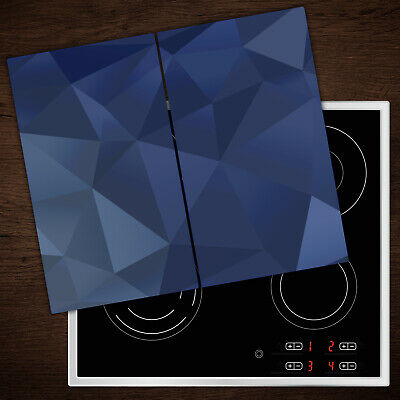Glass Worktop Saver Ceramic Induction Hob Protector Cover Blue Crystal • 34.95£