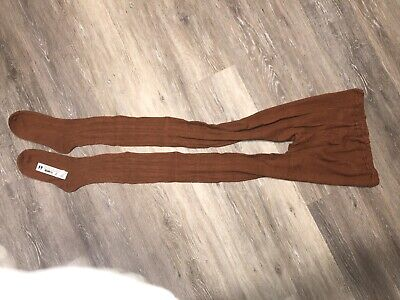 $20 • Buy Womens / Mens Brown Cotton Winter Tights Size XXL