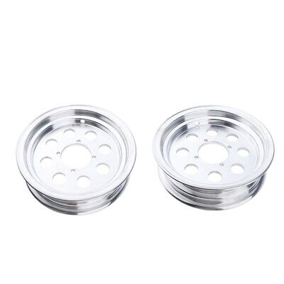 Lots 2 Motorcycle 10in Tubeless Wheel Rim For Monkey Bike Parts Silver • 66.89£