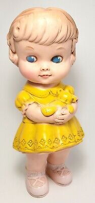 $24.99 • Buy 1962 Vintage Edward Mobley Rubber Squeak Toy Doll Girl Arrow Plastic Corp 1960s