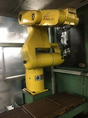 $4499.99 • Buy Fanuc LR Mate 120i Robot With Cage, Programming Pendant, Gripper Head And Cables