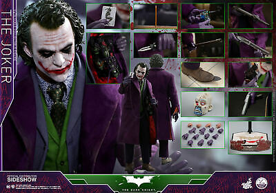 $ CDN984.95 • Buy Hot Toys Batman The Dark Knight JOKER 1/4 Scale QS10 Heath Ledger TDK Reg 903126