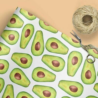 £3.55 • Buy Avocado Wrapping Paper | Gift Wrap | Wrapping Paper | Luxury Wrap