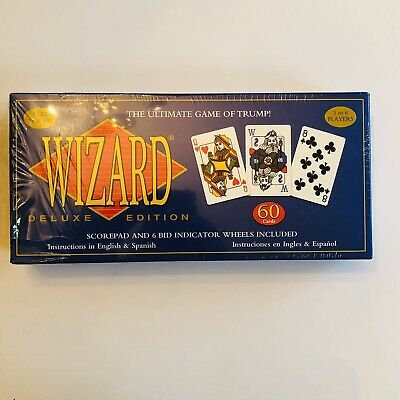 Card Game Wizard The Ultimate Game Of Trump 60 Card Count Sealed 1997   7B • 15.99$