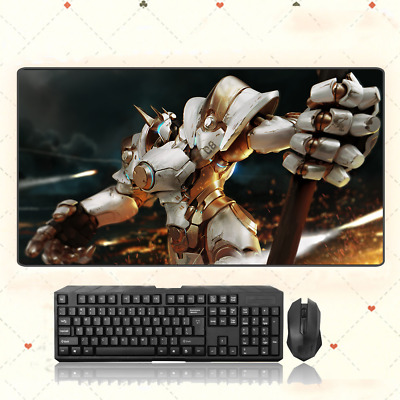 AU28.42 • Buy Overwatch Reinhardt Wilhelm Extra Large Mouse Pad Free Shipping(31.5'' * 15.7'')
