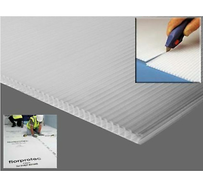 £33.95 • Buy Fire Retardant Floor Protection Correx Corrugated Fluted Board Plastic Sheets