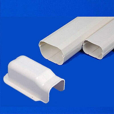 AU48 • Buy New Air Conditioner Wall Duct Cover PVC KIT Duct Split System 100mm 2m Length