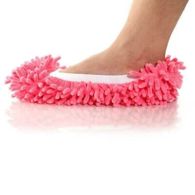 1pc Microfibre Telescopic Duster Slipper Mop Dust Remover Cleaning Floor Polish • 5.72£