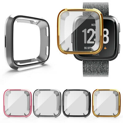 $ CDN5.79 • Buy Band Protector Full Coverage Soft Cover Bumper Watch TPU Case For Fitbit Versa