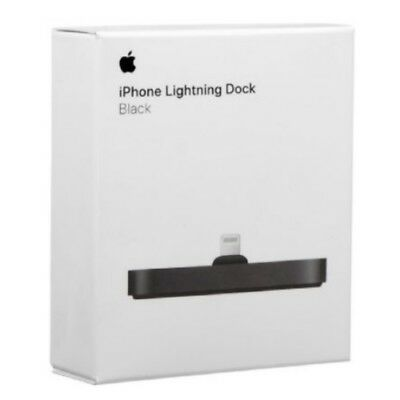 Genuine Original Apple IPhone Lightning Dock Black For IPhone Ipod Touch • 28.10£