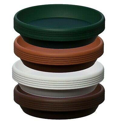 5 Pack ,Coloured Plastic Plant Pot Saucer,Many Colours, Heavy Duty,many Sizes • 9.89£
