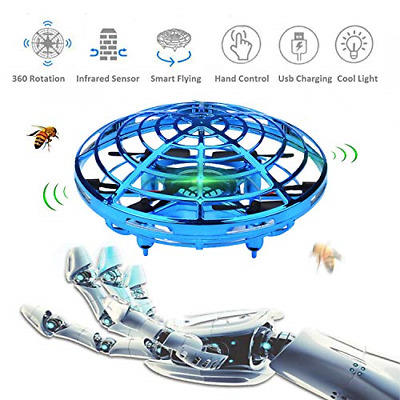 AU59.79 • Buy WALLE DronesforKids Boys FlyingToys MIini Hand Drones Toy With LED Lights For