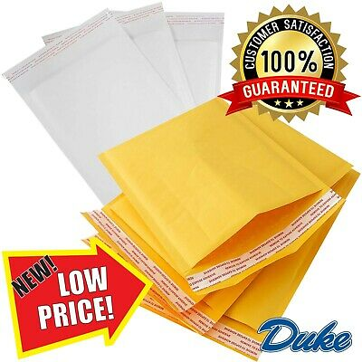 £29.72 • Buy Gold & White Quality Padded Bubble Envelopes Bags *all Sizes/qty's* - Top Prices