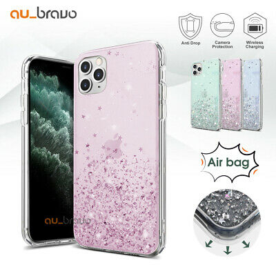 AU9.99 • Buy Glitter Shockproof Slim Case Cover For Apple IPhone 12 Mini 11 Pro Max XS XR SE