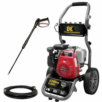 $329 • Buy BE275HAS 2700 PSI (Gas - Cold Water)  Pressure Washer W/ Honda GC160 5 HP Engine