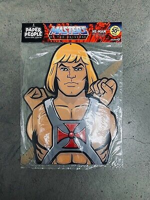 $24.99 • Buy AC-MOTUW01-HPP-01: Super7 Masters Of The Universe He-Man Over 50  Paper People