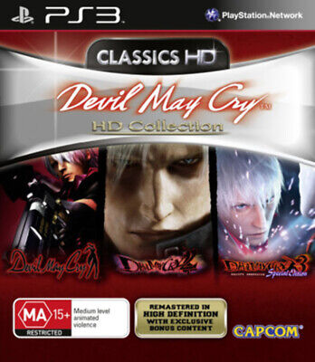 AU36.95 • Buy Devil May Cry HD Collection PS3 Game USED