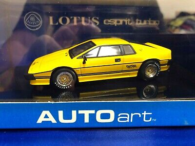 $ CDN53.31 • Buy Autoart 1/43 Lotus Esprit Turbo Yellow 55303 With Tracking Number Japan