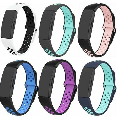 AU5.39 • Buy Sport Strap Silicone Replacement Wristband For Fitbit Inspire & Hr & Ace 2 Band