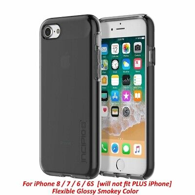 AU10.23 • Buy Incipio NGP Pure [Glossy Smoke Color] Flexible Slim Case For IPhone 8 7 6 6s