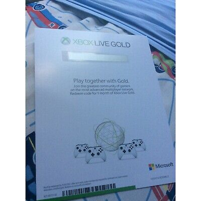 $ CDN38.11 • Buy Xbox Game Pass And Xbox Live Gold 1 Month Each