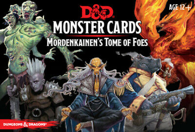 AU44.95 • Buy Dungeons & Dragons Spellbook Mordenkainens Tome Of Foes Cards NEW