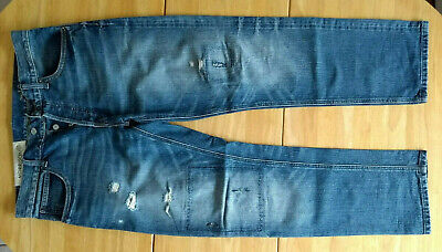 Gap 1969 Blue Jeans, W32, Morrison, 100% Cotton. Ring Spun Denim. • 19.84£