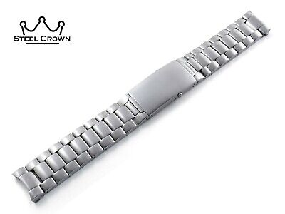 20mm 22mm For OMEGA Watch Stainless Steel Bracelet Strap Band Silver Seamaster • 32.90£