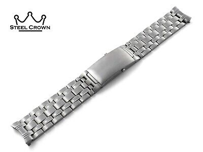 20 22mm For Omega Watch Stainless Steel Bracelet Strap Band Silver Seamaster • 34.90£