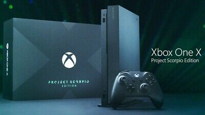AU900 • Buy Xbox One X 1TB Console - Project Scorpio Edition Brand New Sealed