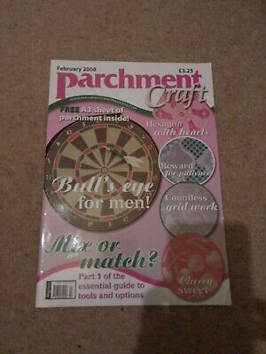 Parchment Craft Magazine February 2008 Issue • 3.89£