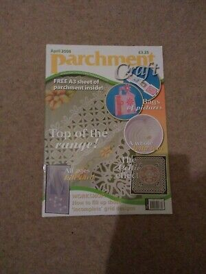 Parchment Craft Magazine April 2008 Issue • 4.49£