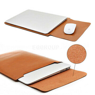 AU20.59 • Buy Light Brown Laptop Sleeve Bag Case For MacBook Surface Pro HP Dell 11 13 14 15