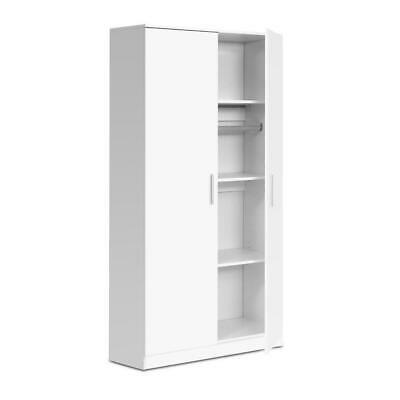 AU280.95 • Buy Artiss Multi-purpose Cupboard 2 Door 180cm Wardrobe Closet Storage Cabinet Kitch