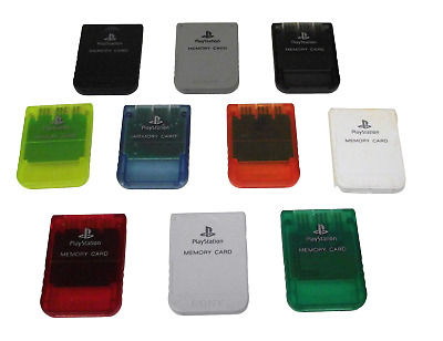 AU7.90 • Buy Genuine Sony PS1 Memory Card PlayStation 1 1mb SCPH 10020 Dropdown Selection