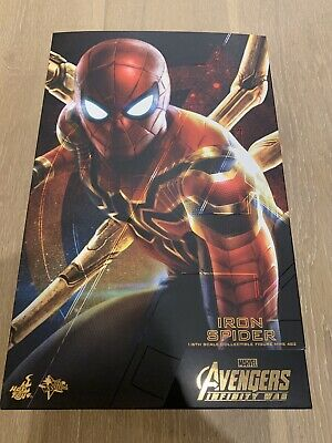 AU520 • Buy Hot Toys Avengers 3: Infinity War–Iron Spider-man 1/6 Scale Action Figure MMS482