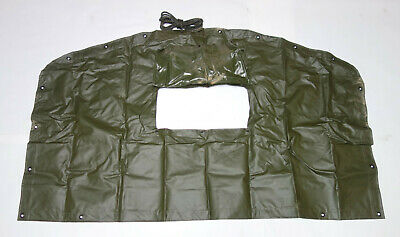 $29 • Buy Military Vinyl Truck Cargo Cover End Curtain 2540-00-402-2157  M35A2, M923, M925