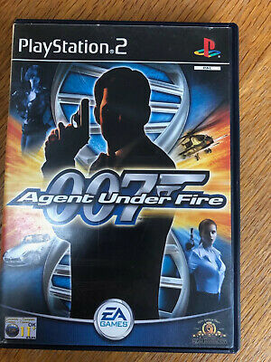 007 Agent Under Fire James Bond For Sony Playstation 2 (PS2) • 3.38£