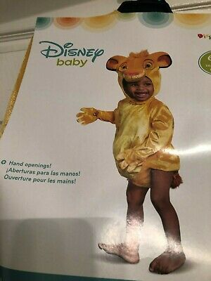 £13.09 • Buy Disney The Lion King Baby Simba Infant Costume New 6-12 Months
