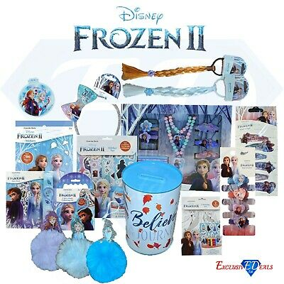 Disney's Frozen 2 Children's Collection Toy Accessories Activity Play Packs • 2.10£