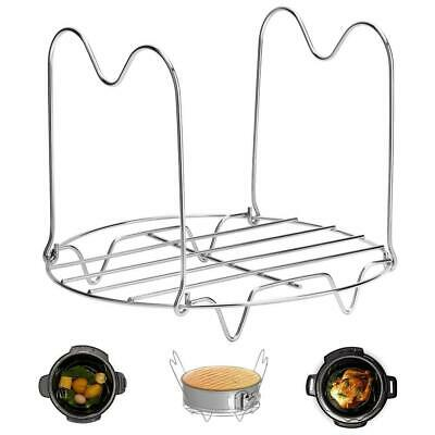 $26.55 • Buy Instant Pot Trivet With Handles For 6 8 Quart Accessories, Stainless Steel Rack,