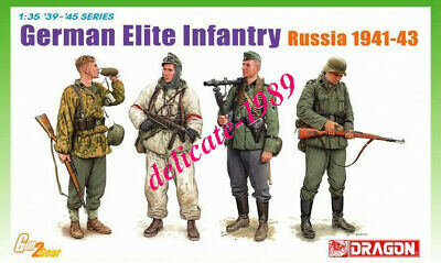 DRAGON 6707 1/35 German Elite Infantry, Russia 1941-43 • 18.06£