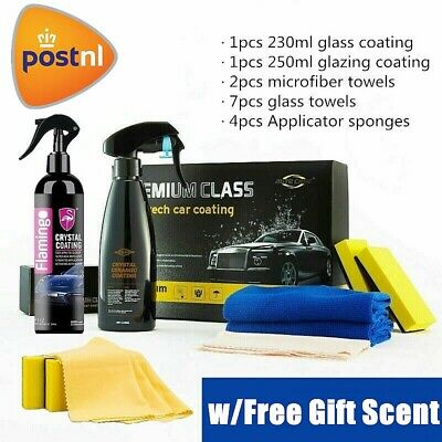 AU47.99 • Buy 9H Liquid Nano Ceramic Car Glass Coating Glazing Polishing Kit Super Hydrophobic