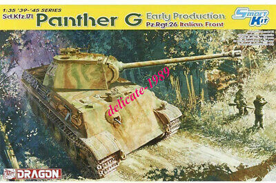 DRAGON 6267 1/35 Panther G Early Production Pz.Rgt.26 Italian Front [DS Track] • 46.08£