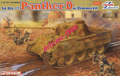 DRAGON 6428 1/35 Sd.Kfz.171 Panther D W/Zimmerit • 49.38£