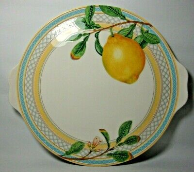 Marks & Spencer Fruit Orchard 13  Eared Cake Plate In Excellent Condition • 28.50£
