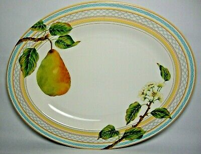 Marks & Spencer Fruit Orchard 14  Oval  Platter In Excellent Condition • 28.50£