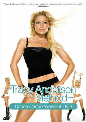 The Tracy Anderson Method: Dance Cardio Workout DVD Keep Fit Gift Idea NEW • 4.95£